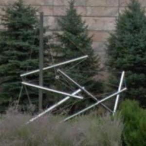 'Able Charlie' by Kenneth Snelson (StreetView)