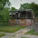 Burned House (StreetView)