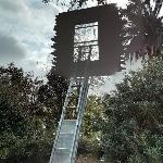 'Window and Ladder--Too Late for Help' by Leandro Erlich
