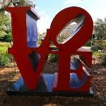 'LOVE, Red Blue' by Robert Indiana