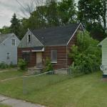 Burned House (Flint,MI) (StreetView)