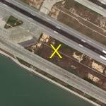 Asiana Airlines Flight 214 Crash Site (2013-07-06) (Google Maps)