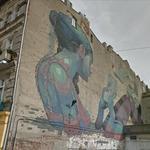 Mural by Aryz
