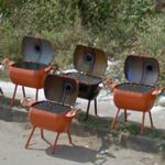BBQ pits for sale (StreetView)