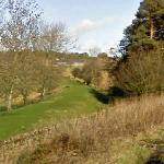 Disused Railway Embankment (StreetView)