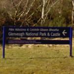 Glenveagh National Park entrance sign