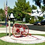Antique Hose Reel Trailer (StreetView)