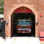 D.C. Fire Department Engine 10, Truck 13