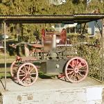Antique Hand Pump Fire Engine (StreetView)