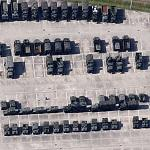 American military trucks (Google Maps)