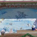 OceanFront Bar & Grill mural