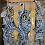 Sea life sculpture