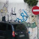Asterix and Obelix (StreetView)