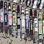 NASCAR haulers at Texas Motor Speedway
