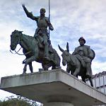 Don Quixote & Sancho Panza (StreetView)