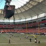 BC Lions football game (StreetView)