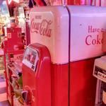 Antique Coca Cola machine