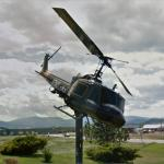 Army Helicopter (on a Pole)