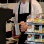 Barista Making Drink