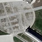 Blimp hangars at Tustin Air Station (Google Maps)