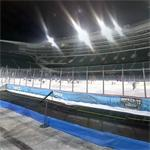 Ice rink on Soldier Field