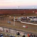 Racing on I-80 Speedway