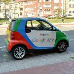 Google photographer's car