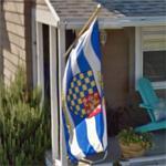 Flag of Lewes, Delaware