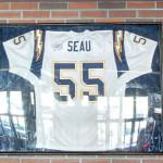 Signed Junior Seau jersey