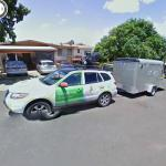 Google camera car and Google Trike trailer