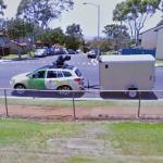 Google camera car and trailer