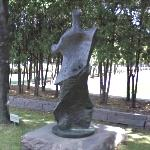 'Standing Figure: Knife Edge' by Henry Moore
