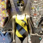 Mannequin in a bathing suit