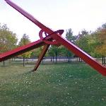 'Molecule' by Mark di Suvero