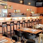 Standing Sushi Bar