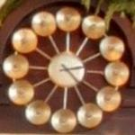 Mid-Century Modern clock