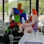'Adam and Eve' by Niki de Saint Phalle (StreetView)