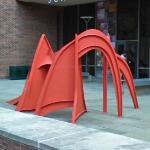 'Jerusalem Stabile' by Alexander Calder