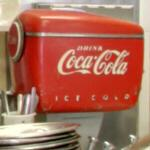 Antique Coca Cola machine (StreetView)
