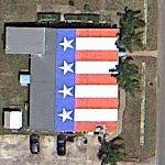 "Scott LoBaido ""Flags Across America"" roof"