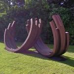 '217.5 Arc x 12' by Bernar Venet