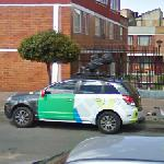 Google car in Colombia