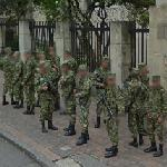 Colombian soldiers (StreetView)