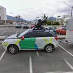 Google Car+Trailer in Columbia