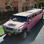 Pink hummer limo