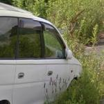 Abandoned Car Near Fukushima (StreetView)
