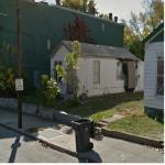 "Damaged ""Shotgun"" House (StreetView)"