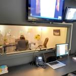 Usability testing observation room