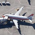 US Airways Airbus A319 in Pacific Southwest Airlines Heritage Livery