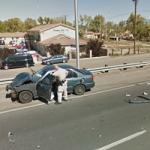 Albuquerque Auto Accident (StreetView)